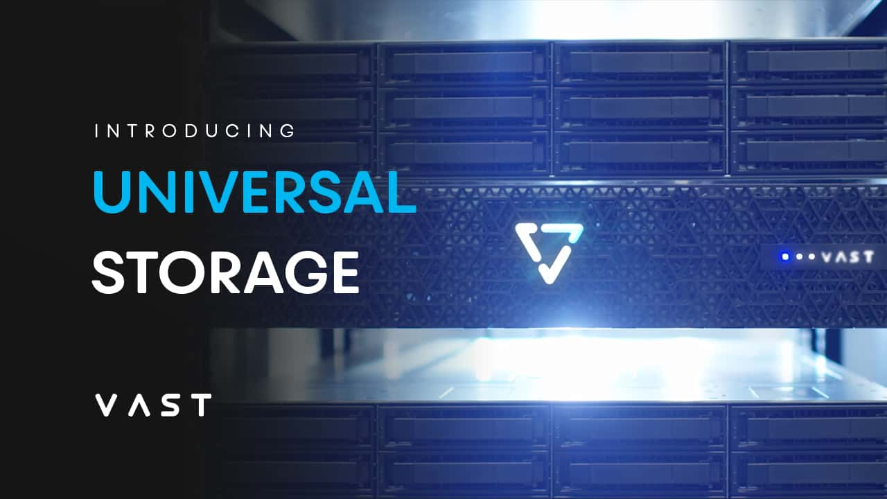 Introducing Universal Storage