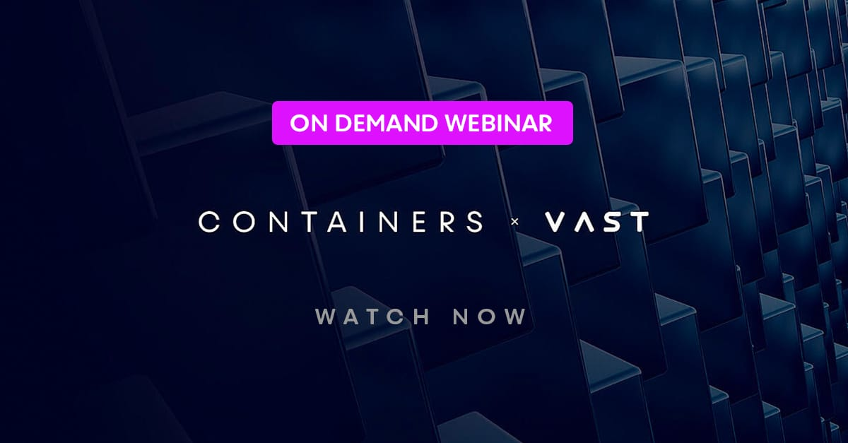 Hello Containers…Goodbye HDDs Webinar