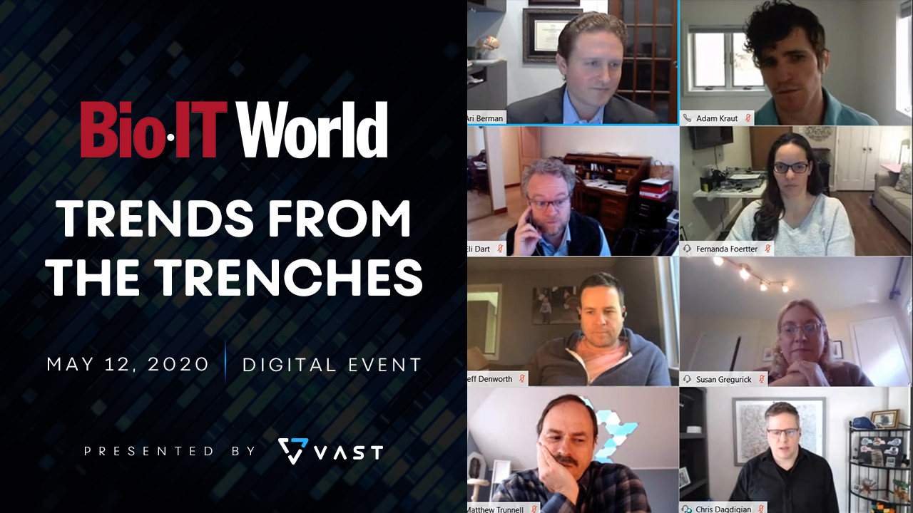 Bio-IT World: Trends From The Trenches 2020 — Presented by VAST Data